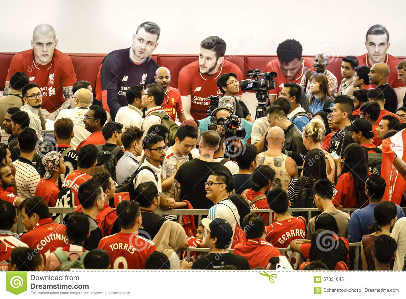 Liverpool Fc Fans In Kuala Lumpur Editorial Image Image Of Club