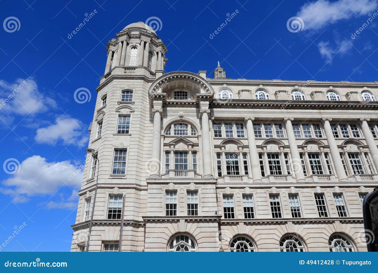 Download Liverpool, Großbritannien stockfoto. Bild von königreich - 49412428