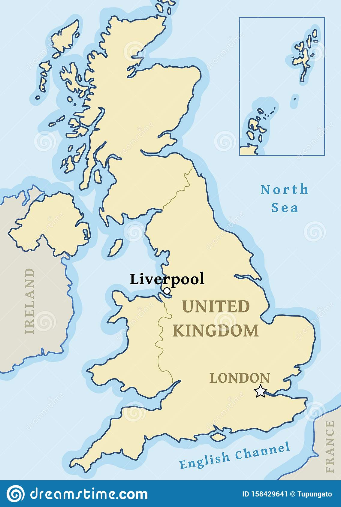 Liverpool map location stock vector. Illustration of ...