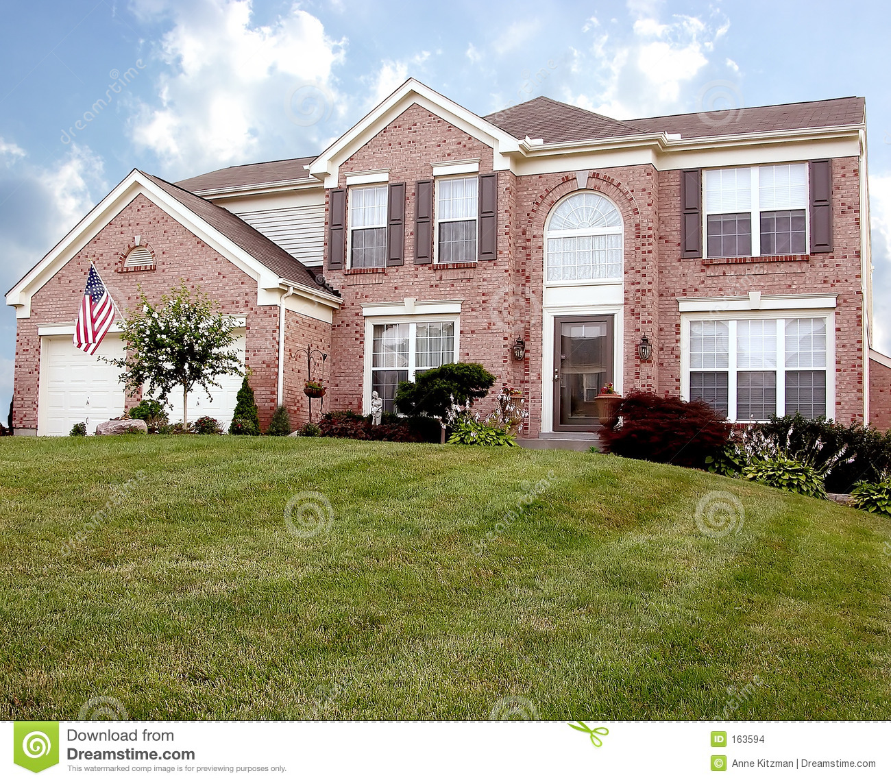 Living The American Dream Stock Images Image 163594