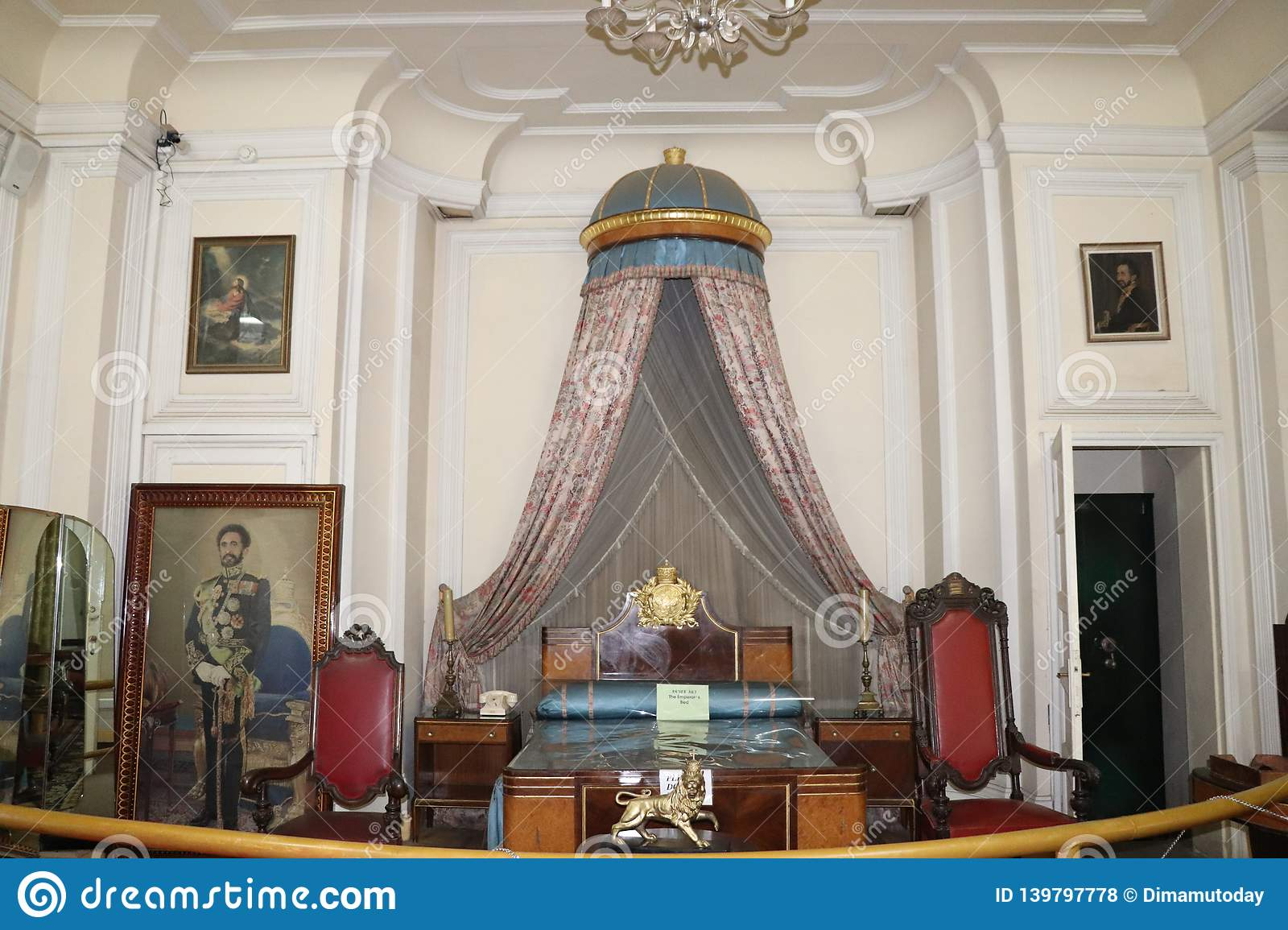 Living Quarters Of Late Emperor Haile Selassie And His Wife Menen