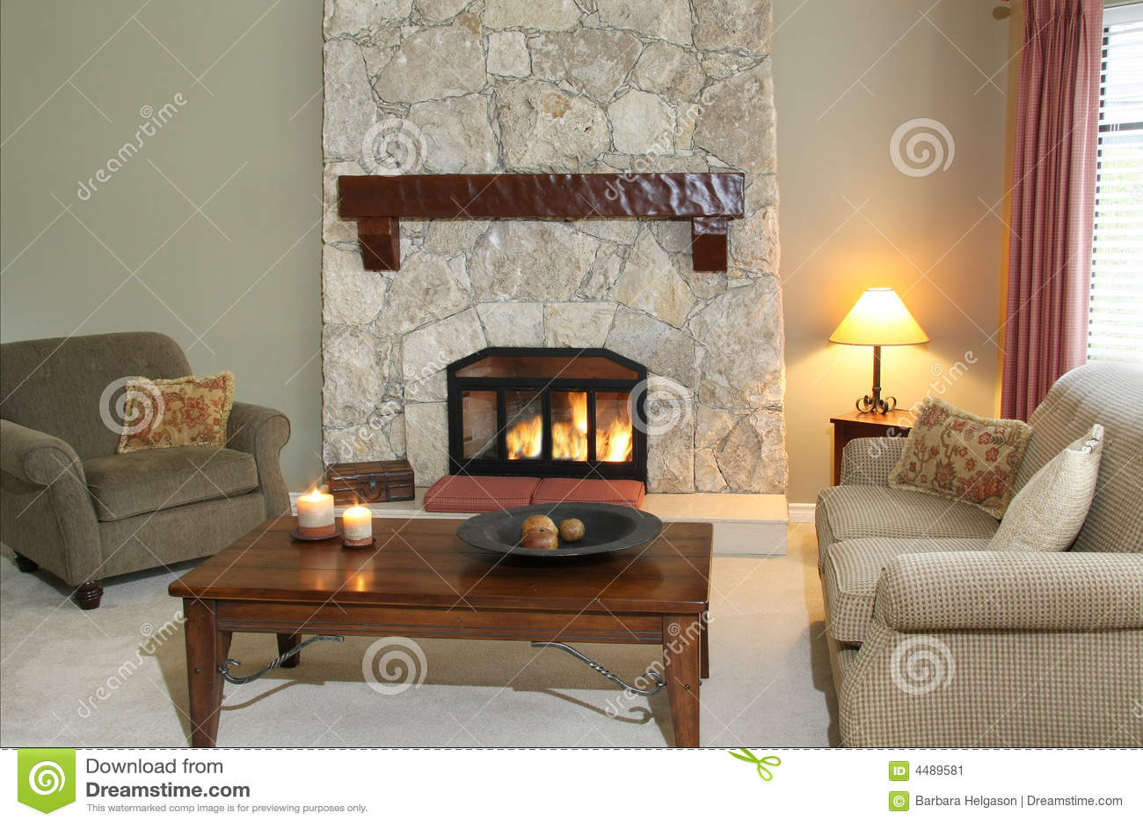 living room stock image image 4489581