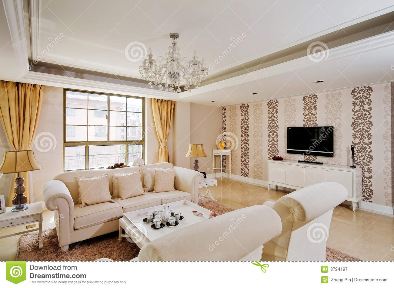 living room royalty free stock photography image 8724197