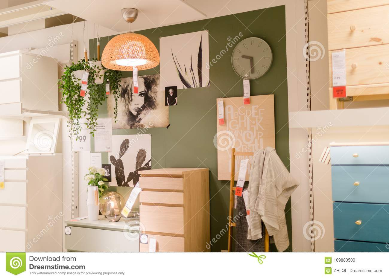 living room cabinets furniture display editorial image image of