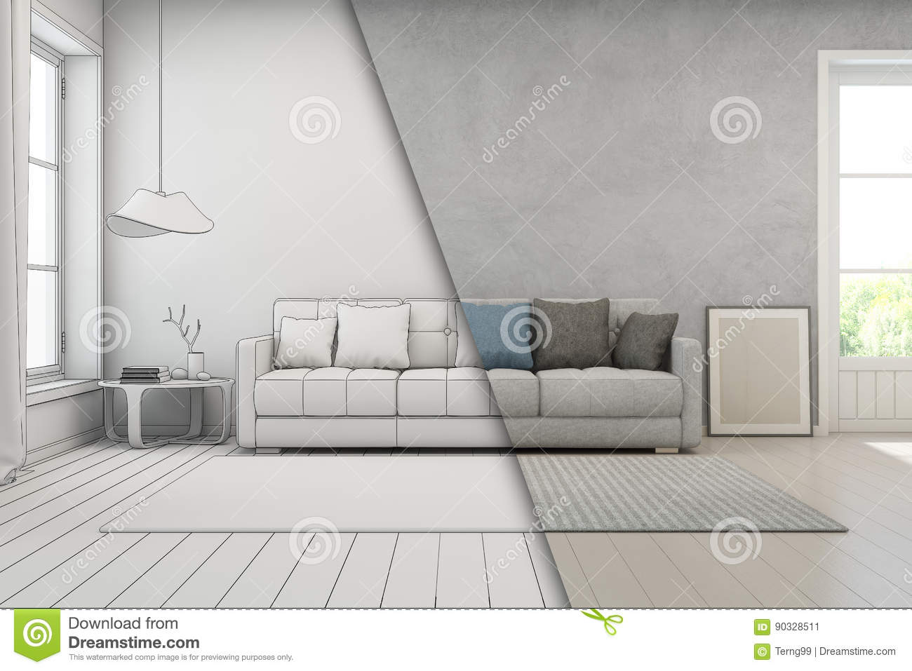 Modern House Sketch Stock Photos - Download 4,730 Images