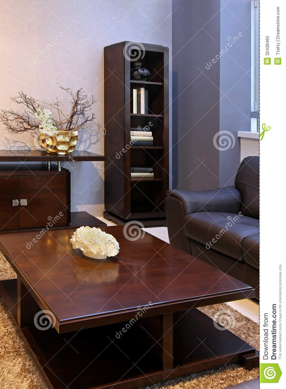 Living Room Corner Stock Photo Image 32438460