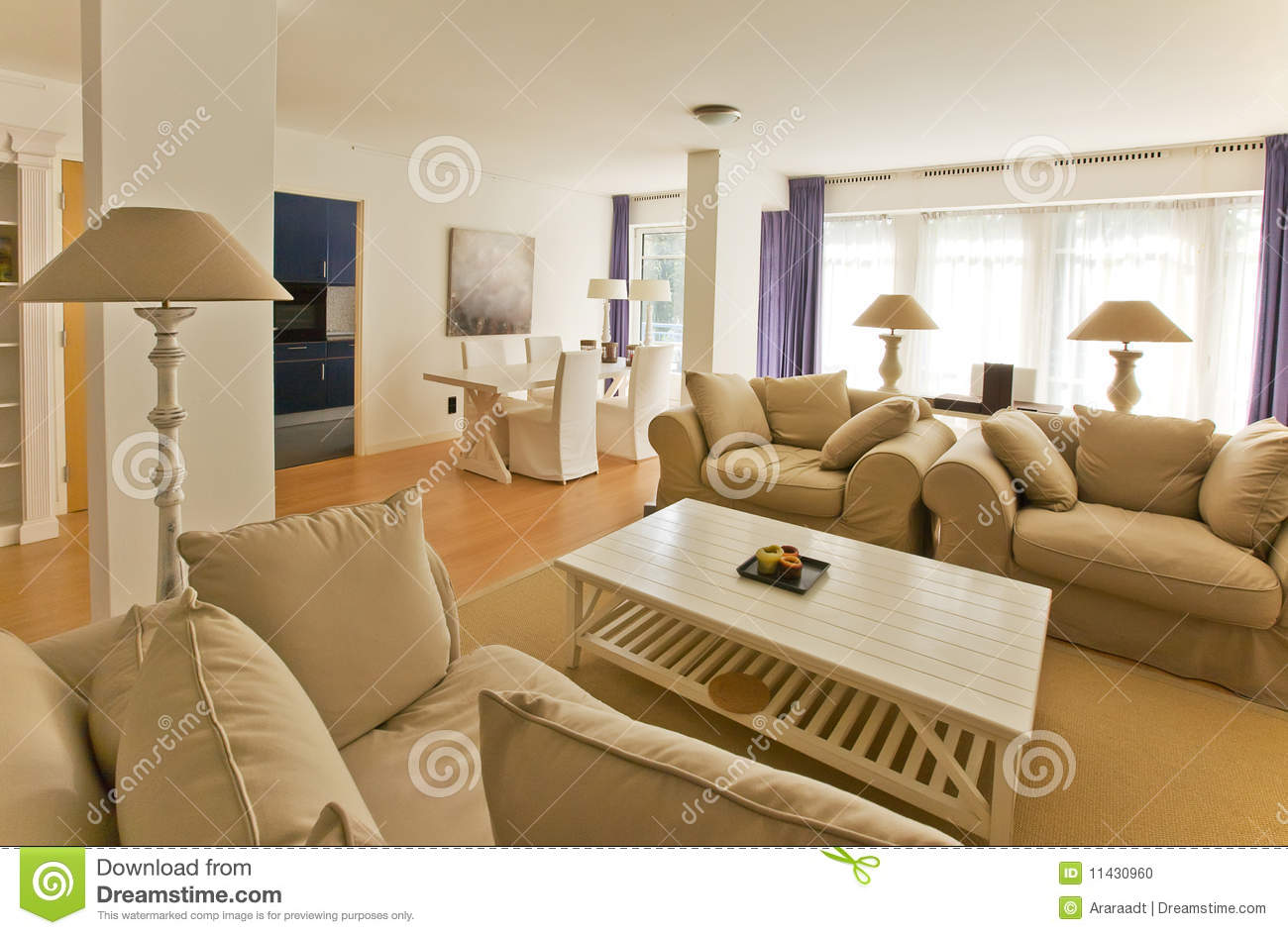 Living Room In Country Style Stock Photo Image 11430960