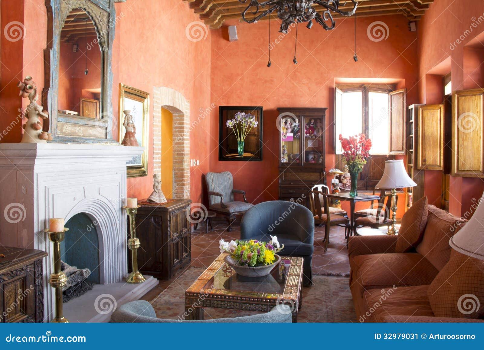 Living Room Stock Image Image 32979031