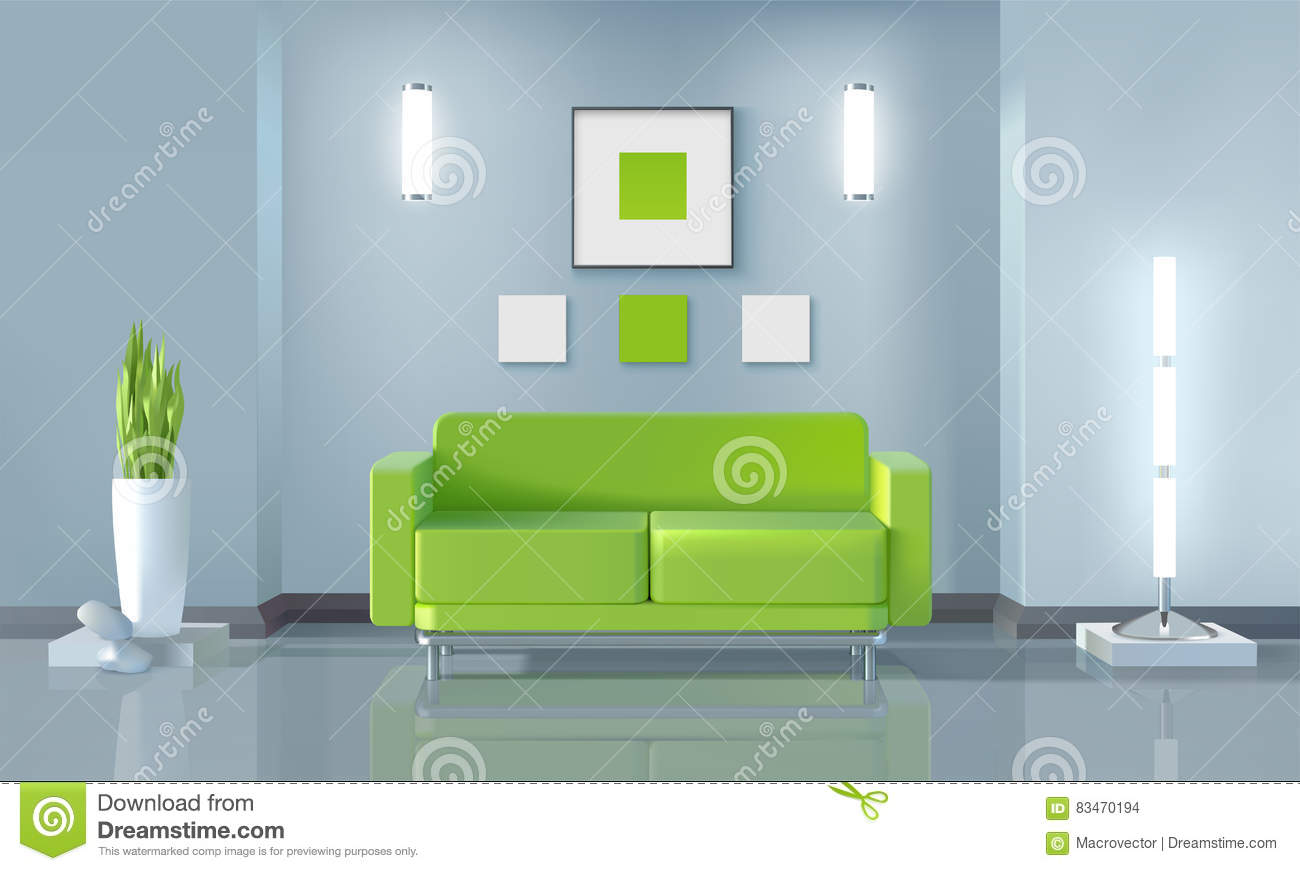 Living room design stock vector image 83470194 for Room design vector