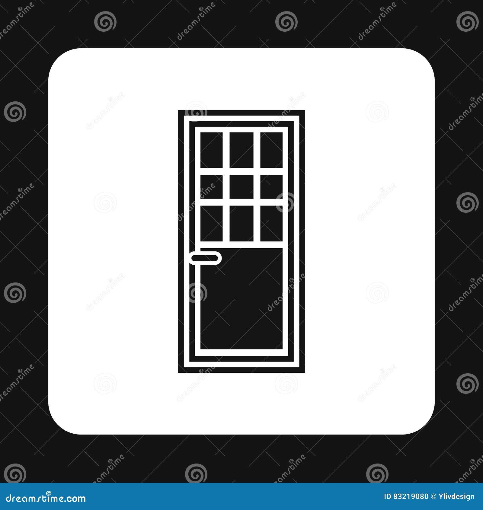 Living room door icon simple style stock vector illustration of living room door icon simple style buycottarizona Gallery