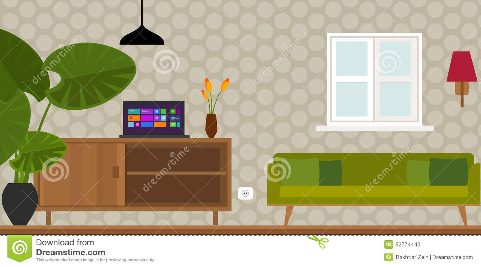 Etonnant Home Interior Vector Example Rbservis Com