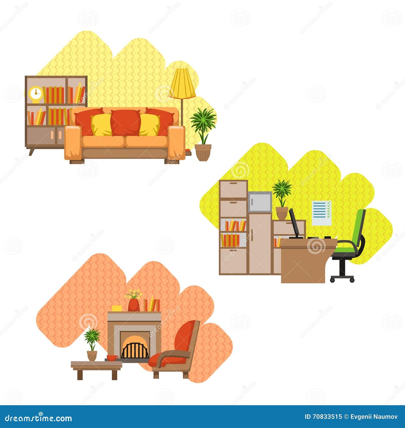 House design cartoon - Royalty Free Vector