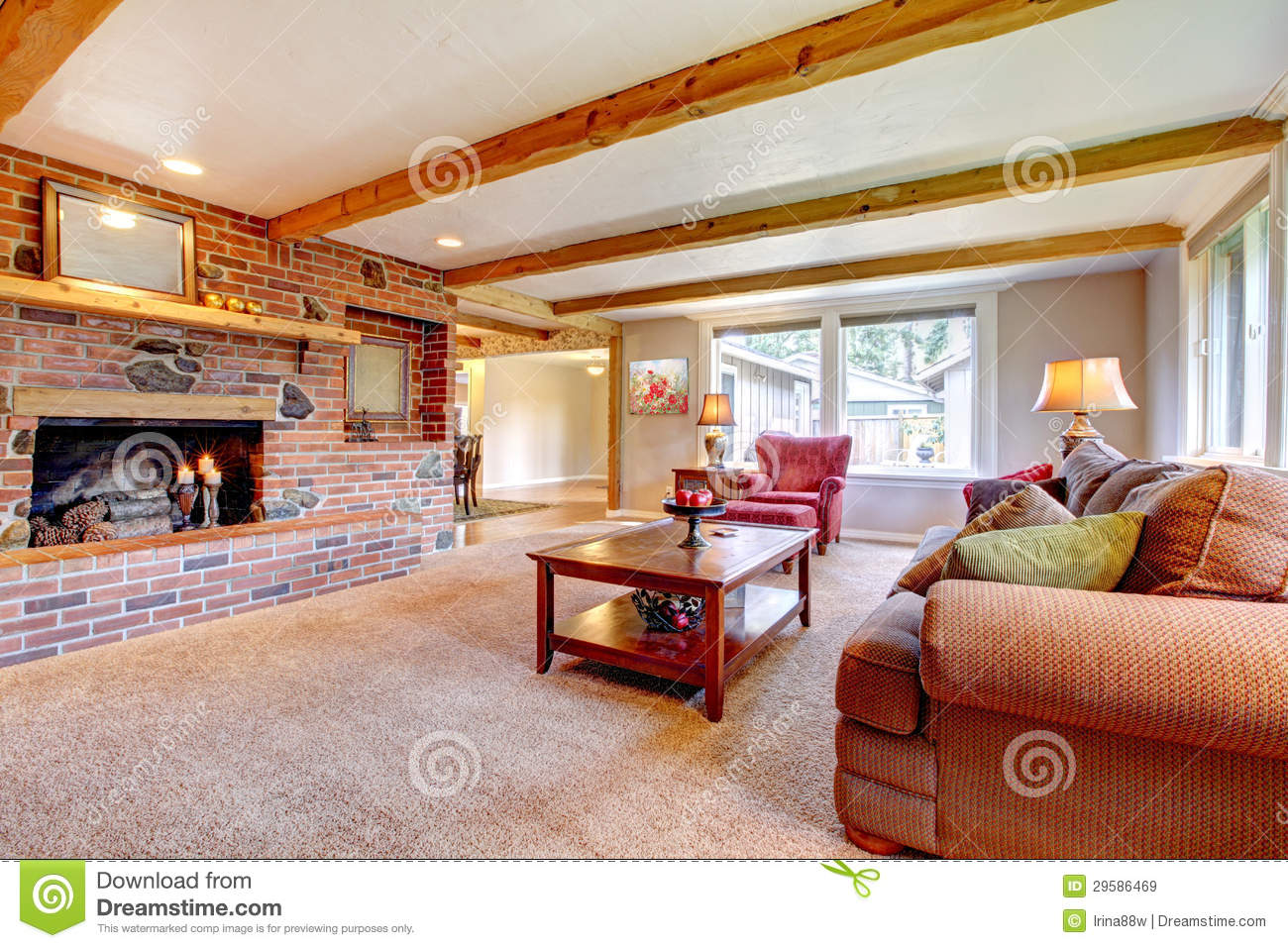 living room with brick fireplace cool rooms walls c and decor