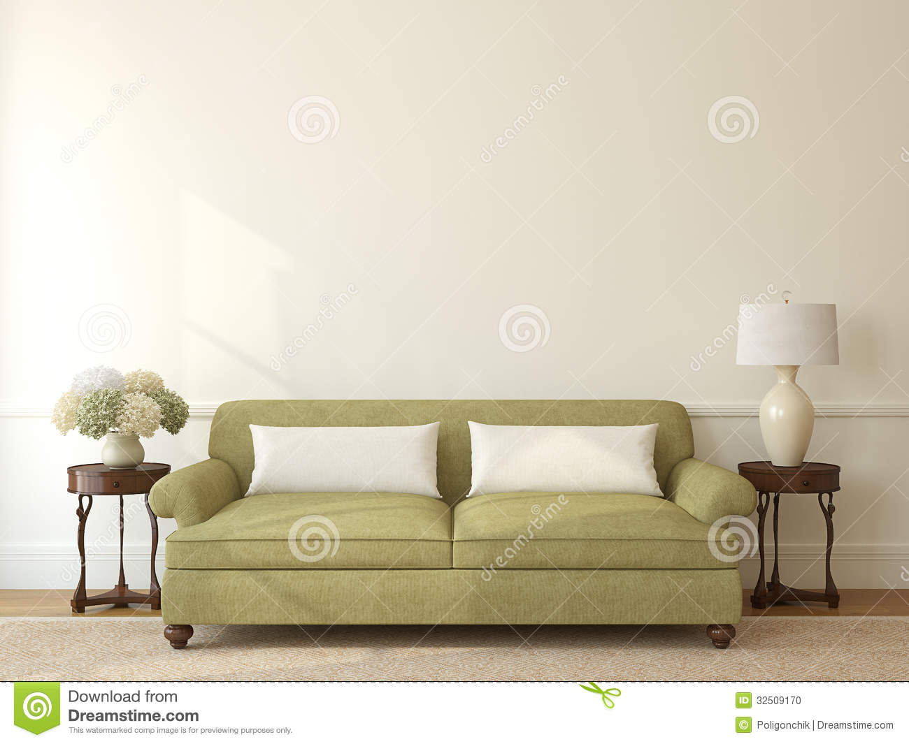 Living Room Interior Stock Photo Image 32509170