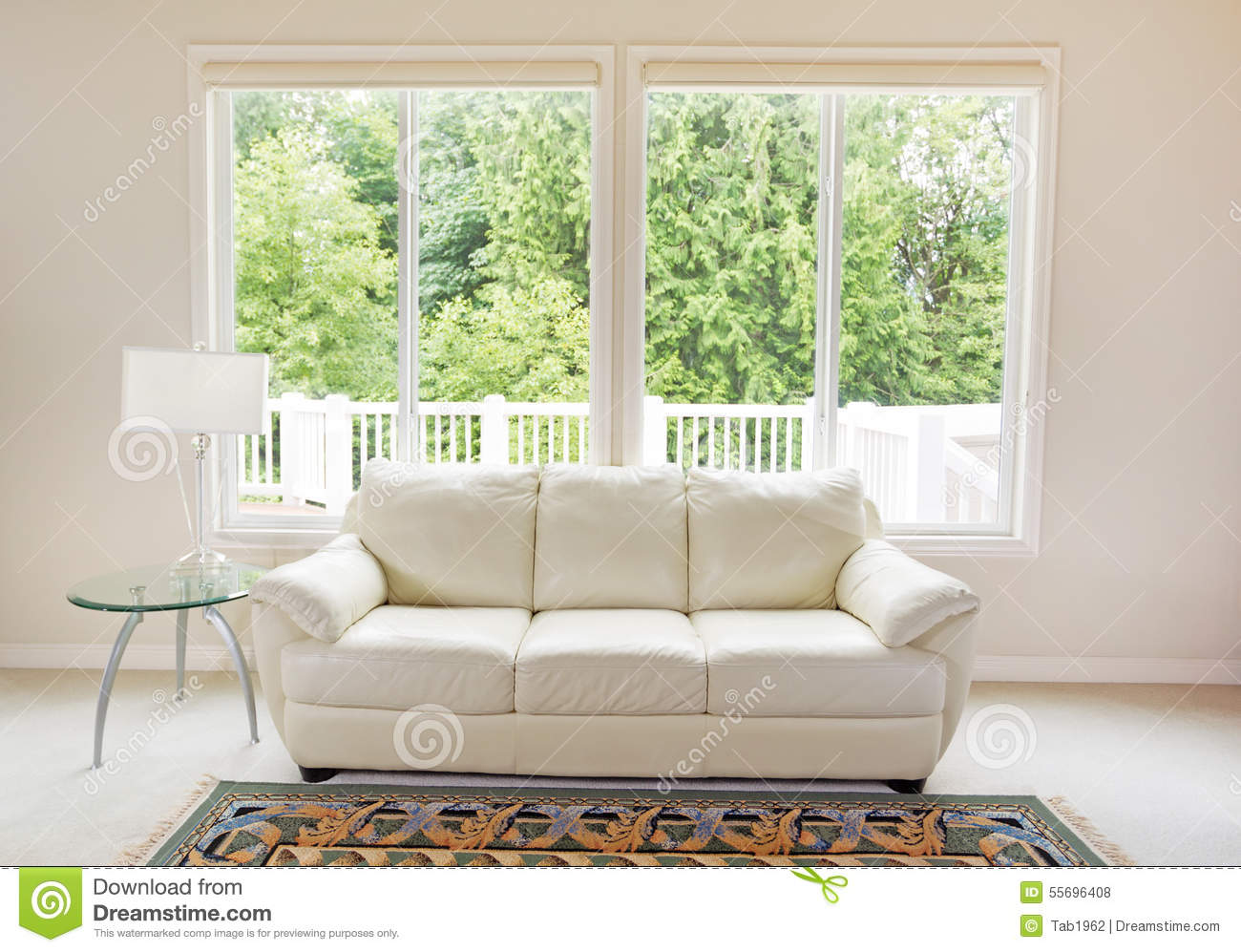 how to clean large interior windows