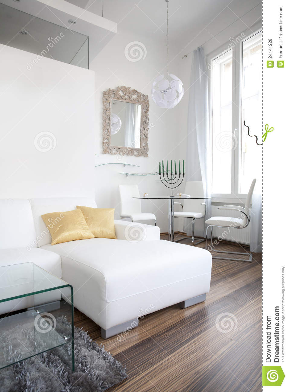 Living Room Interior Design Portrait Royalty Free Stock ...