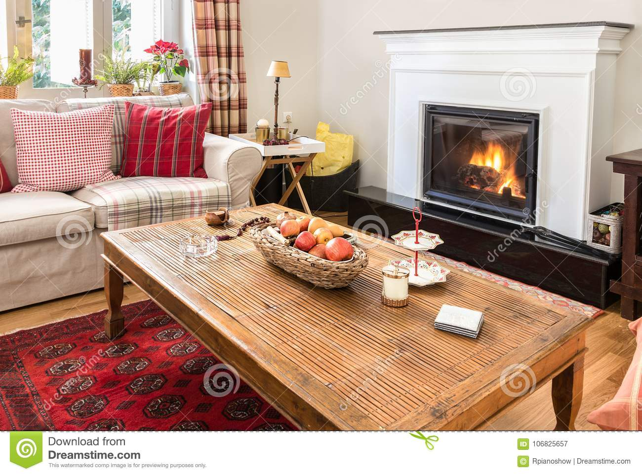 Groovy Living Room Interior With Fireplace Wooden And Warm Style Creativecarmelina Interior Chair Design Creativecarmelinacom