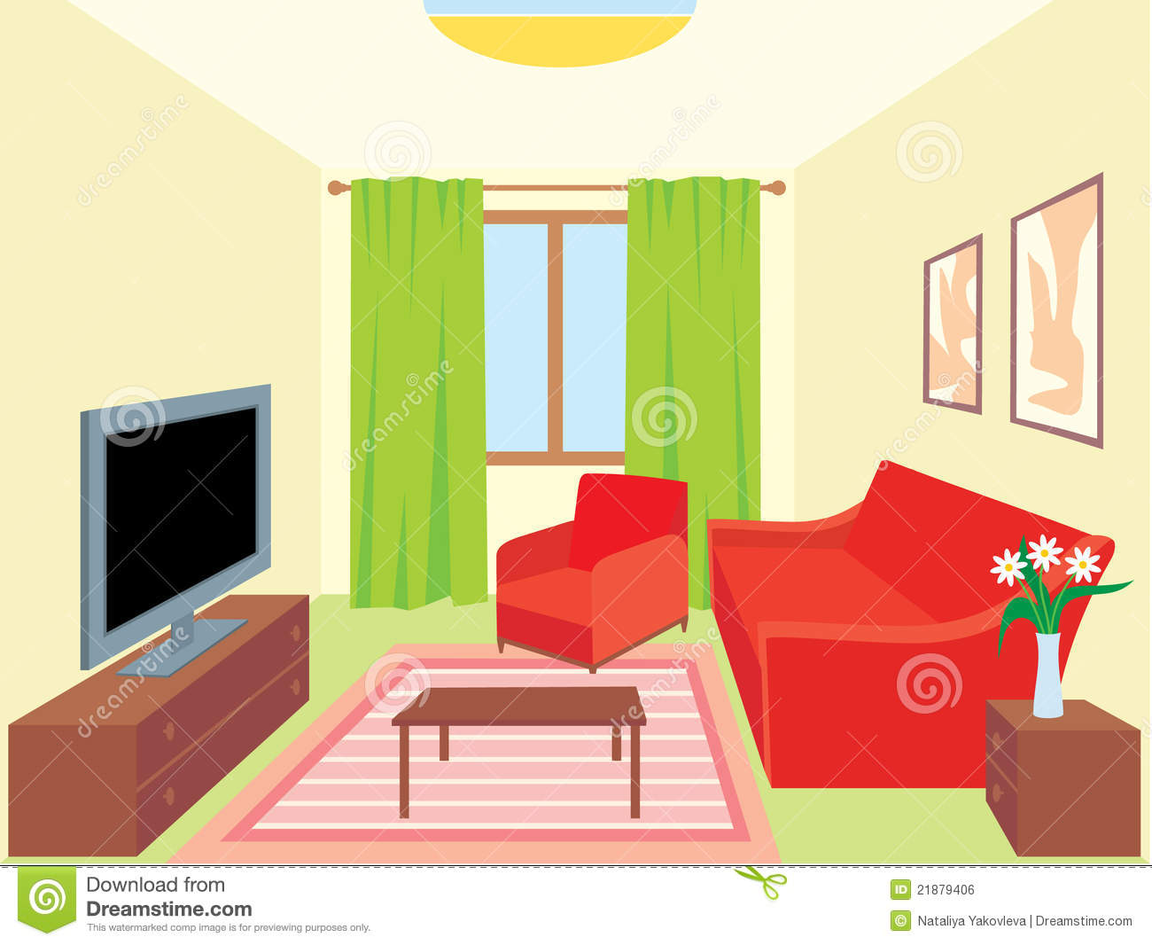 Living room interiors royalty free stock image image for Online drawing room