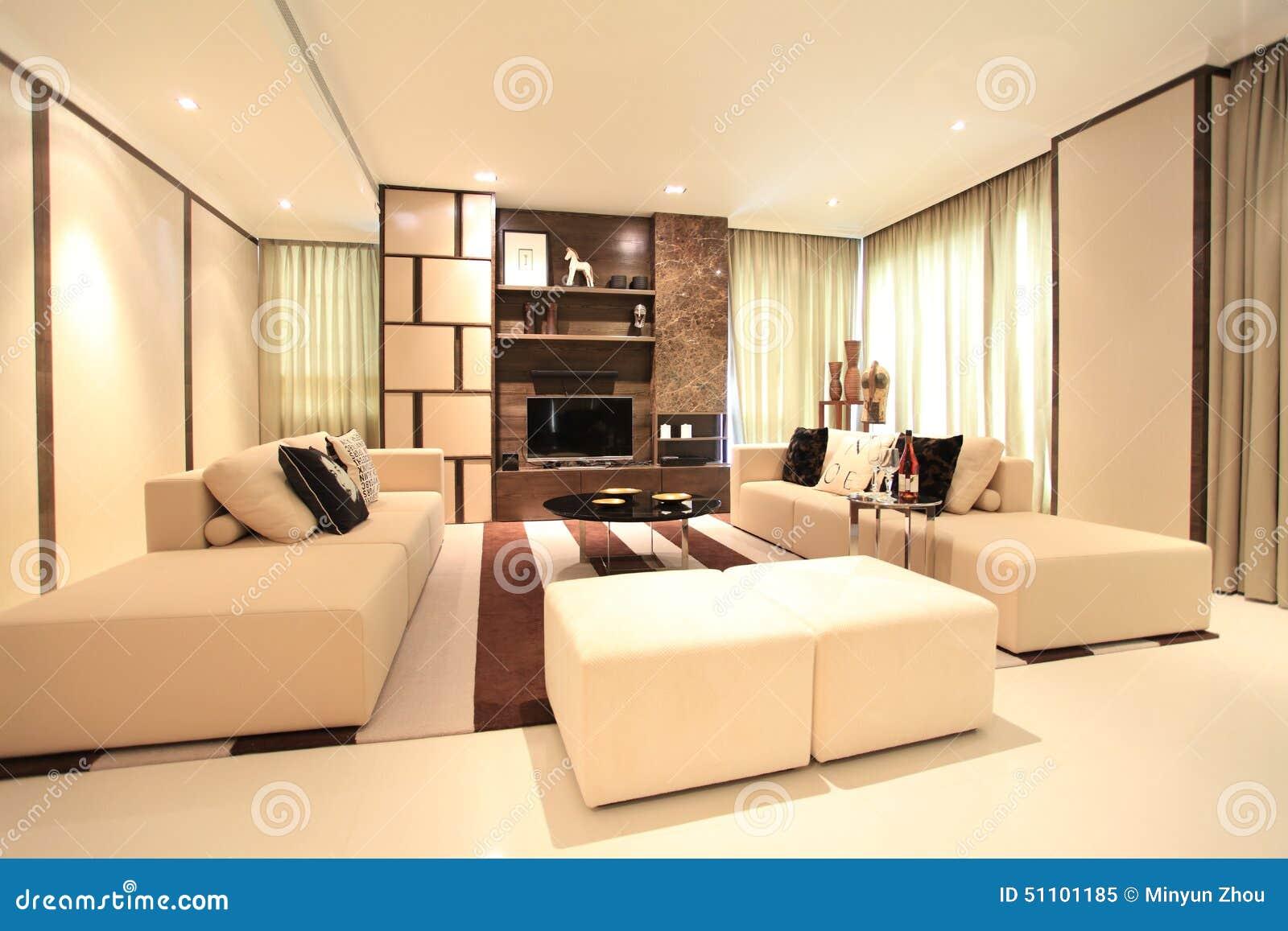 Living Room In Luxury Condo Kuala Lumpur Editorial Image