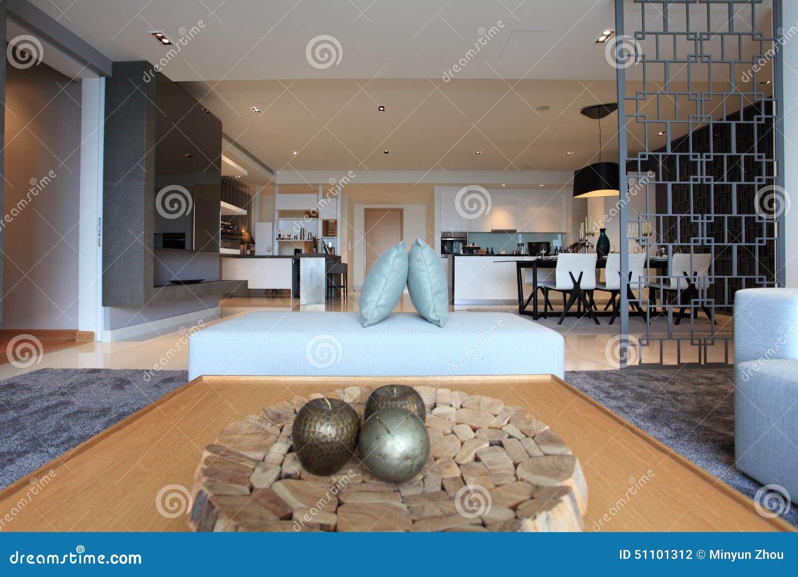 Living Room In Luxury Condo Kuala Lumpur Editorial Photography