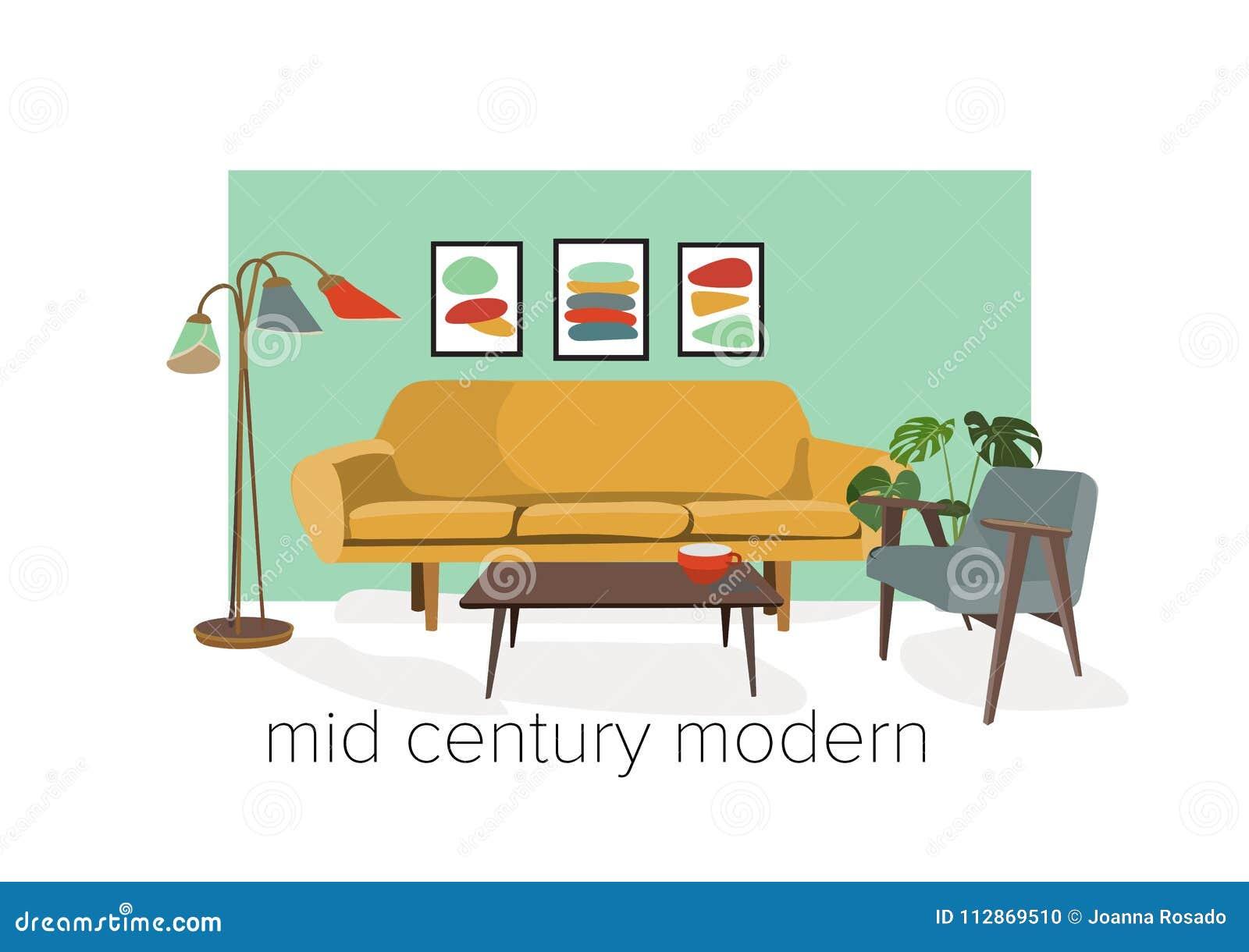 Incredible Vector Interior Design Illustration Living Room Furniture Download Free Architecture Designs Licukmadebymaigaardcom