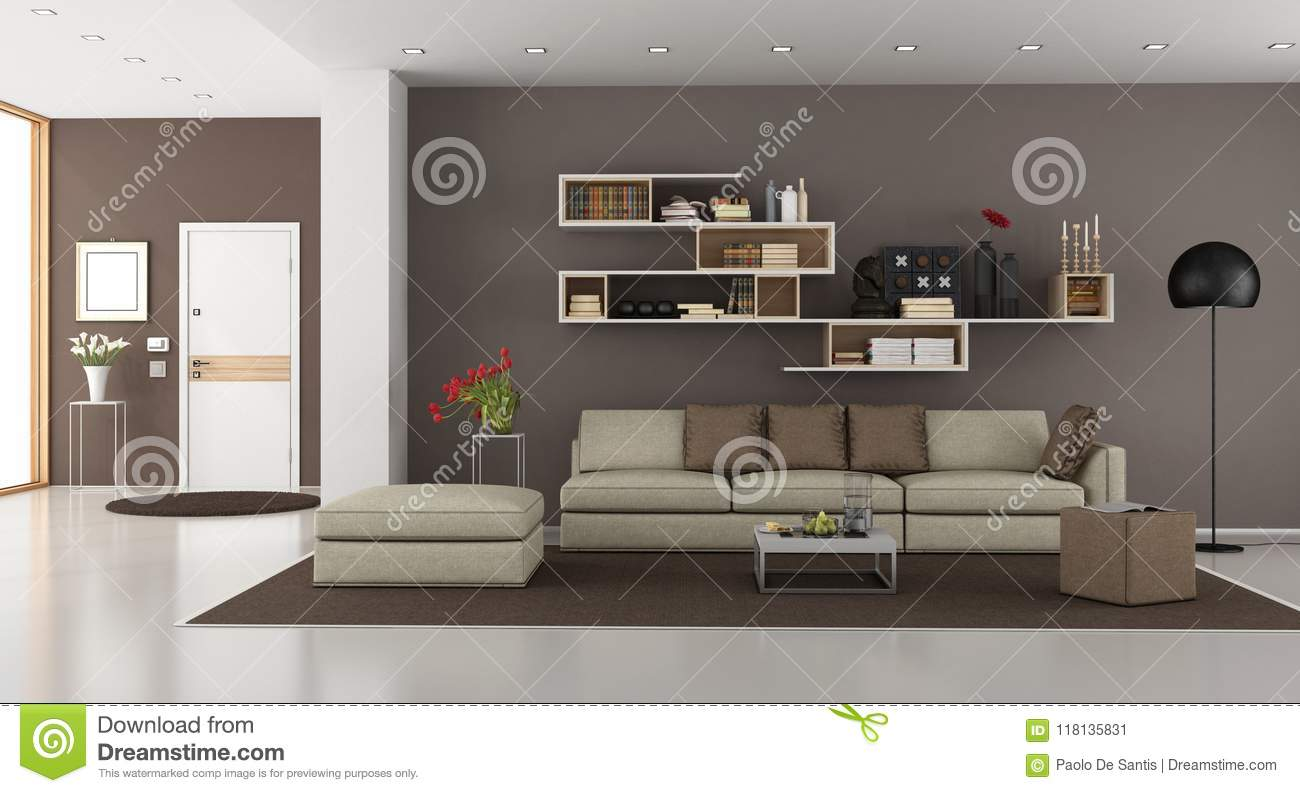 Living room of a modern house