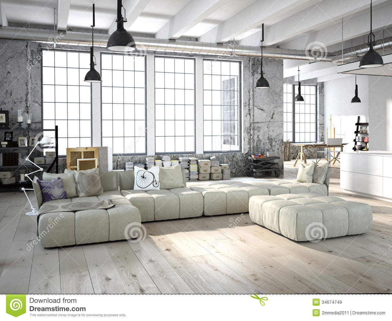 Living Room Royalty Free Stock Images Image 34674749