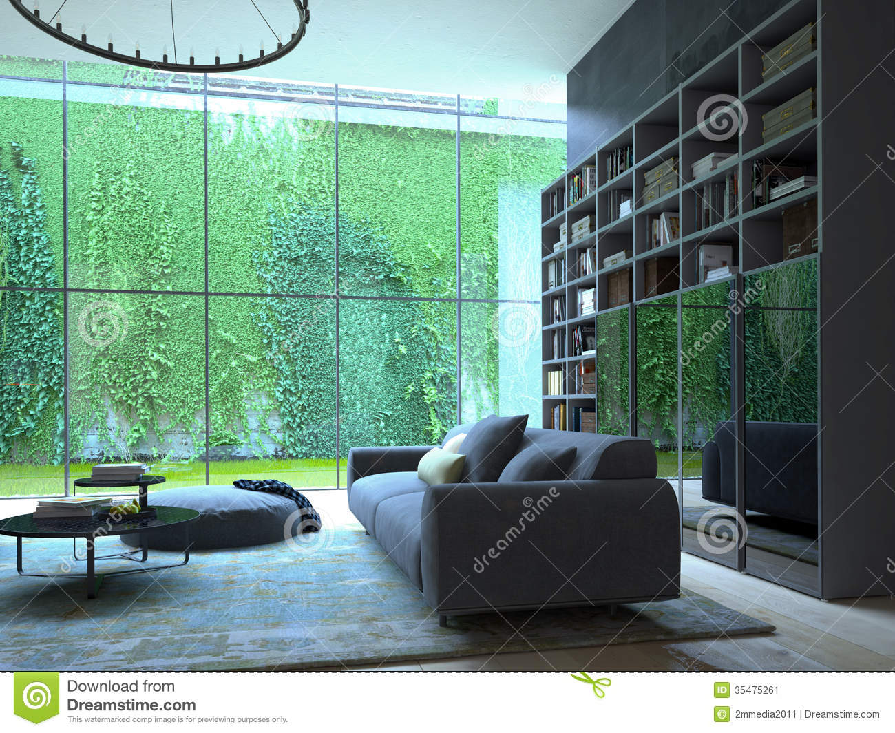 Living Room Stock Image Image 35475261