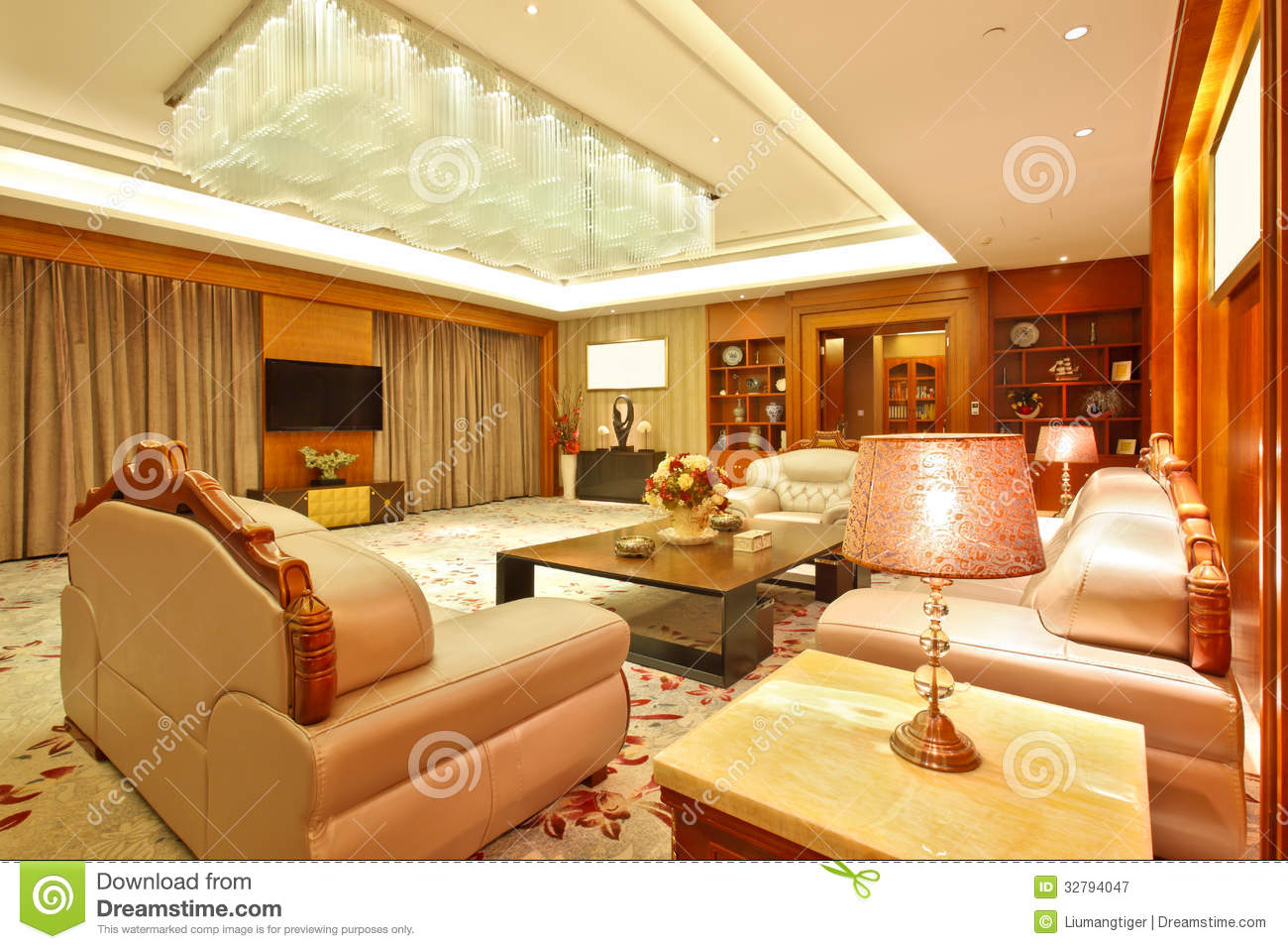 Living room of presidential suite royalty free stock for 5 star living rooms