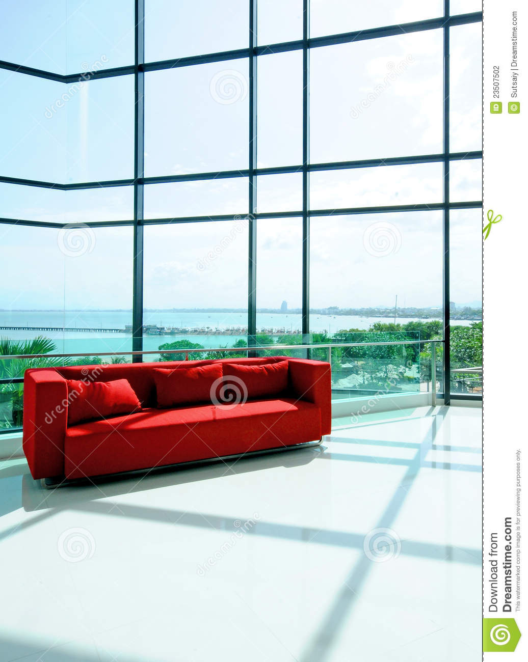 Living Room Sea Background Stock Photography Image 23507502