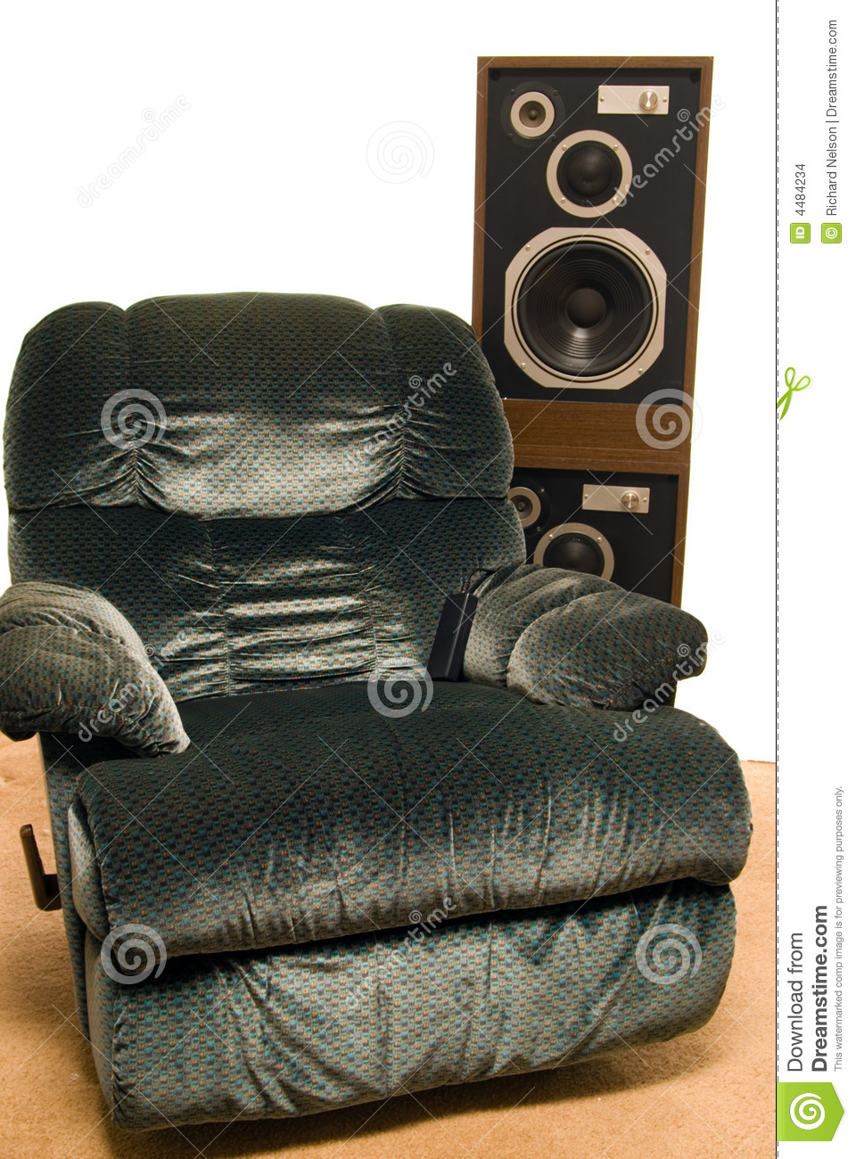 Living Room Sound System Stock Images Image 4484234