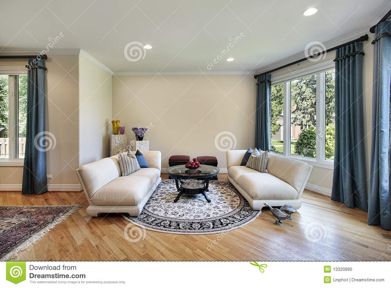 suburban living room living room in suburban home stock photo image 13320890 11362