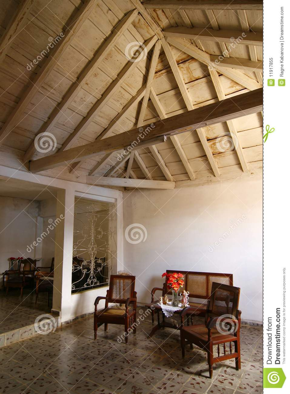 Living room trinidad cuba royalty free stock photo image 11917855 for Living room furniture trinidad