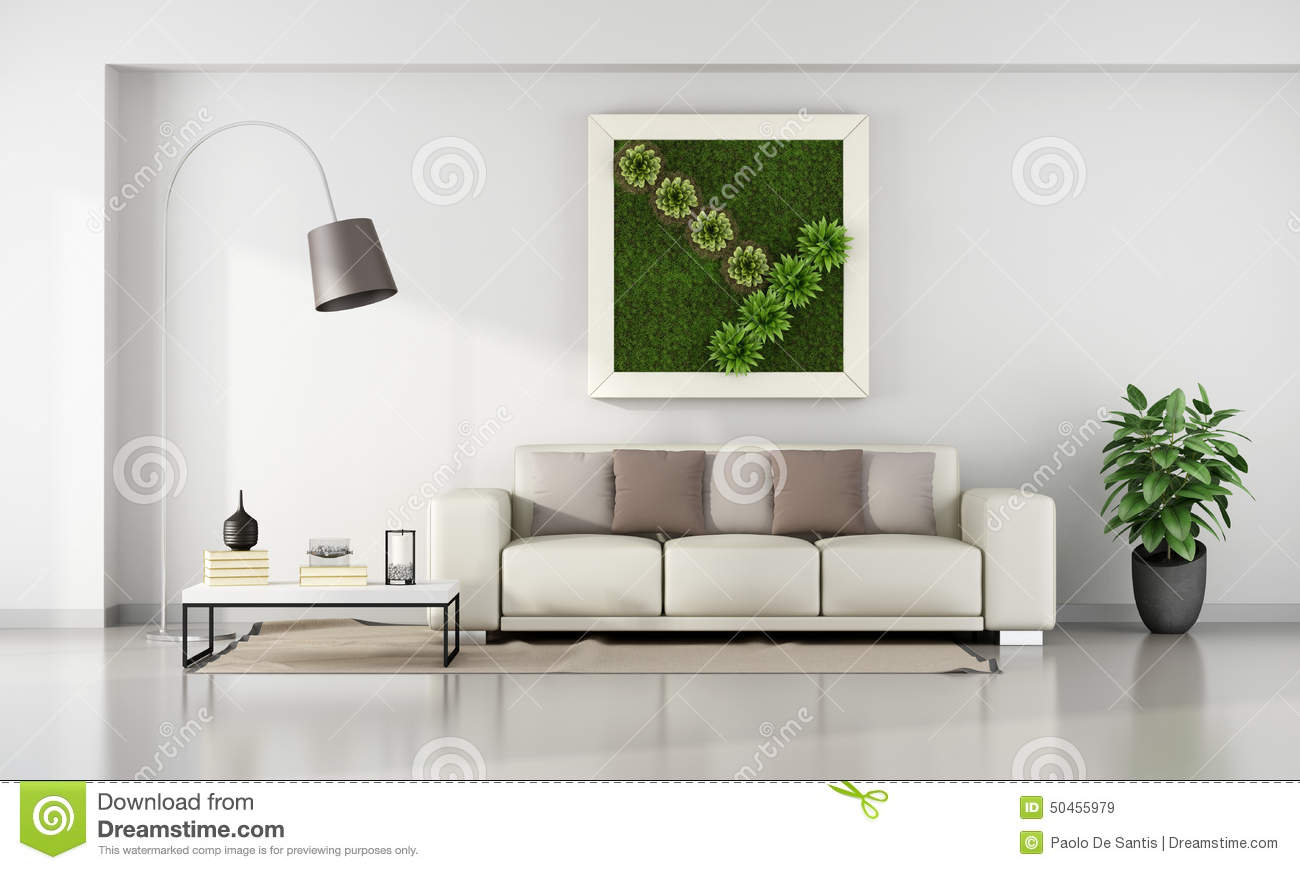 living room frames living room with vertical garden in frame stock 10455