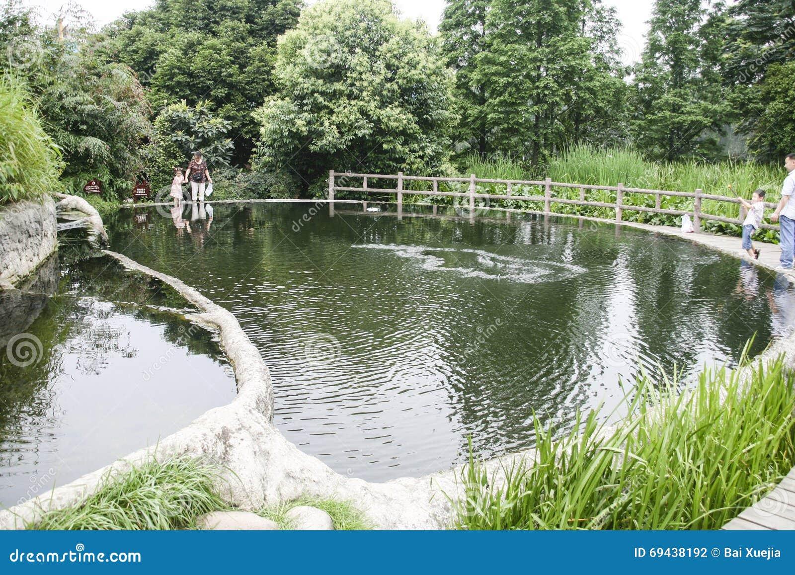 Living Water Garden In Chengdu,china