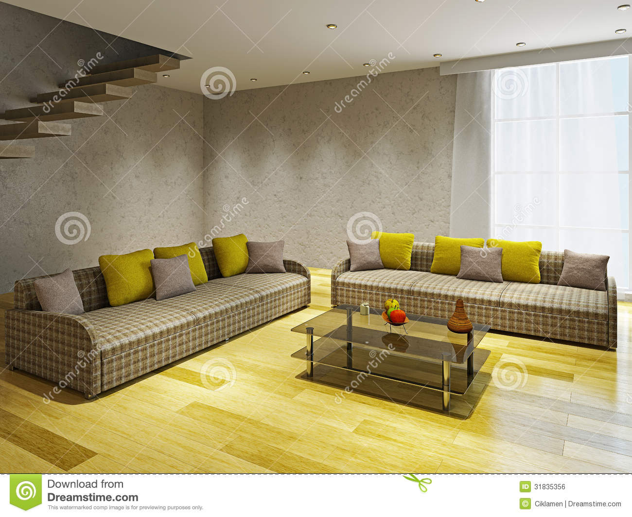 Living Room Two Sofas In Living Room livingroom with two sofas royalty free stock image 31835356 sofas