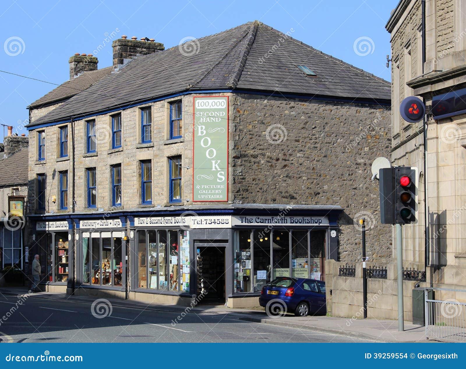 Livraria da segunda mão, Carnforth, Lancashire