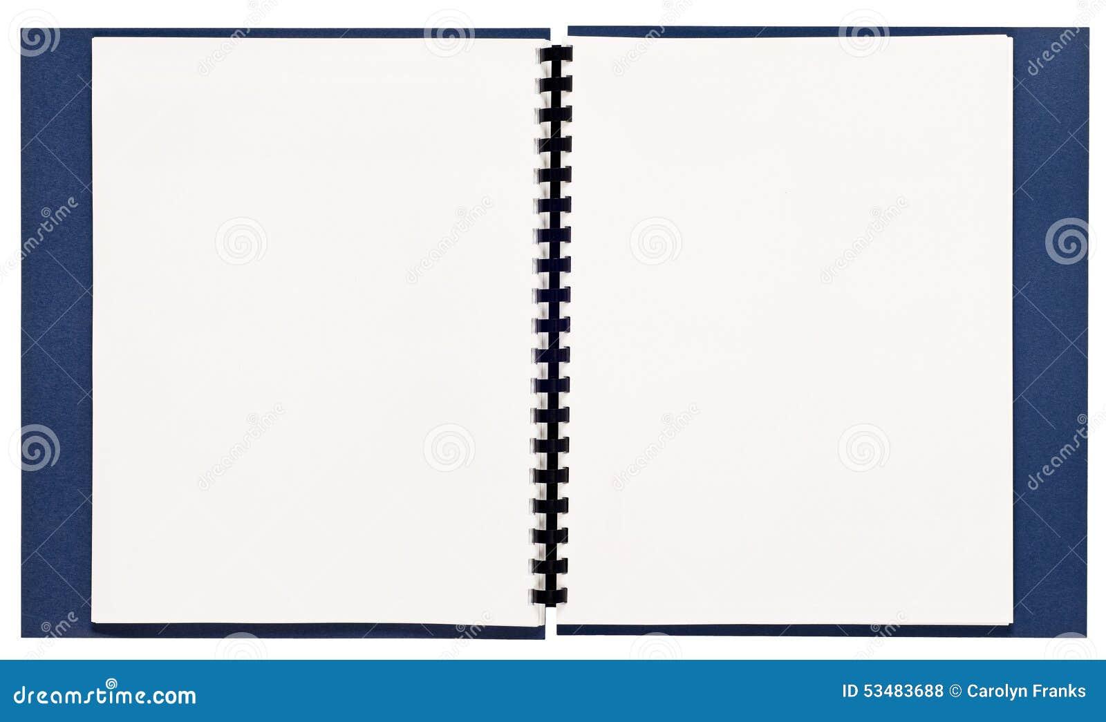 livre spirale vide xxl de pr sentation photo stock image 53483688. Black Bedroom Furniture Sets. Home Design Ideas