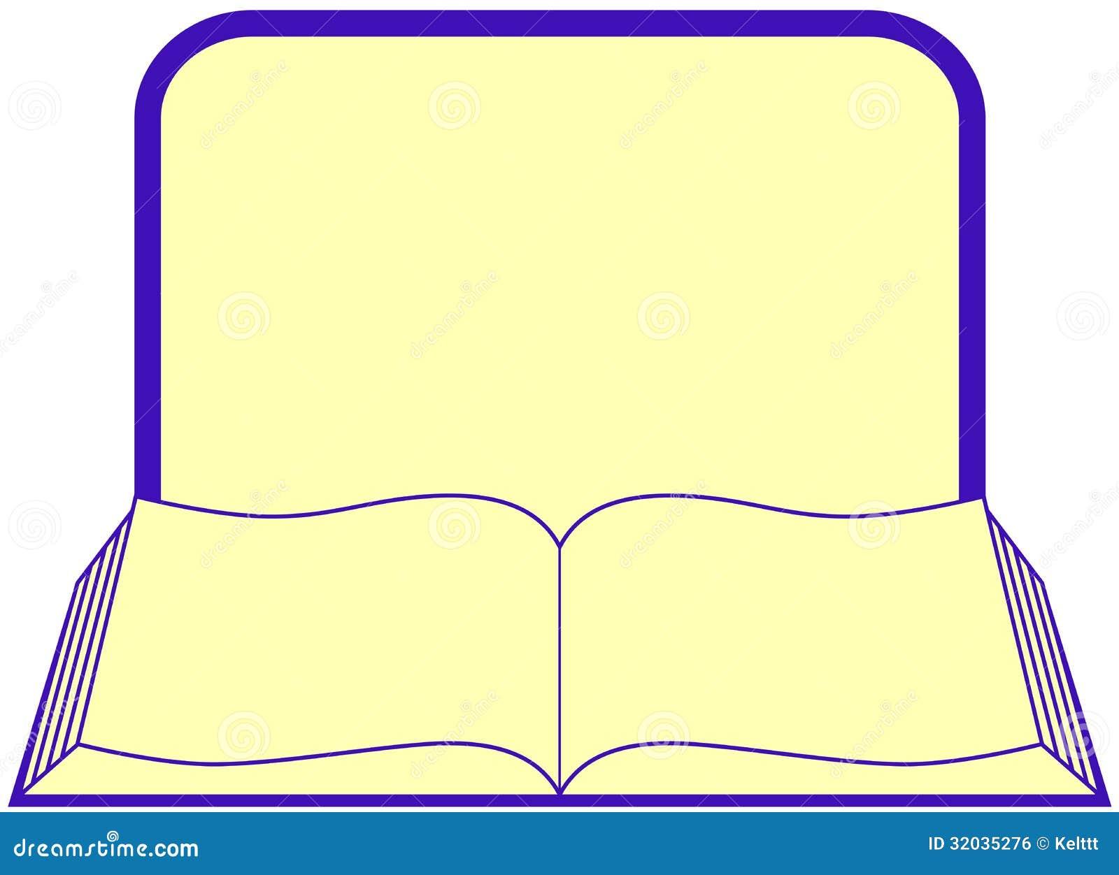 livre avec le cadre et endroit pour le texte illustration de vecteur illustration du place. Black Bedroom Furniture Sets. Home Design Ideas
