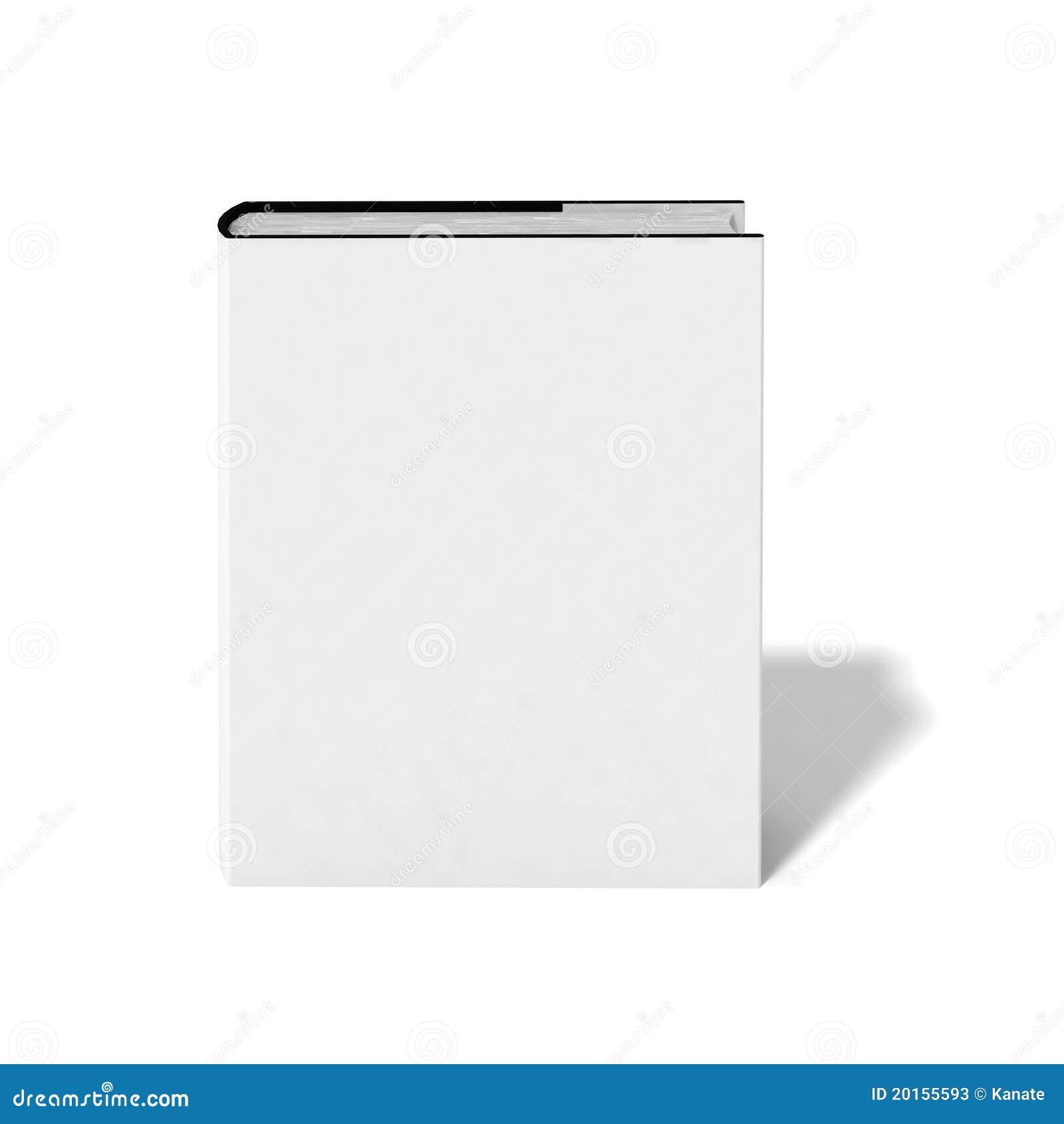 Livre blanc avec le cache blanc