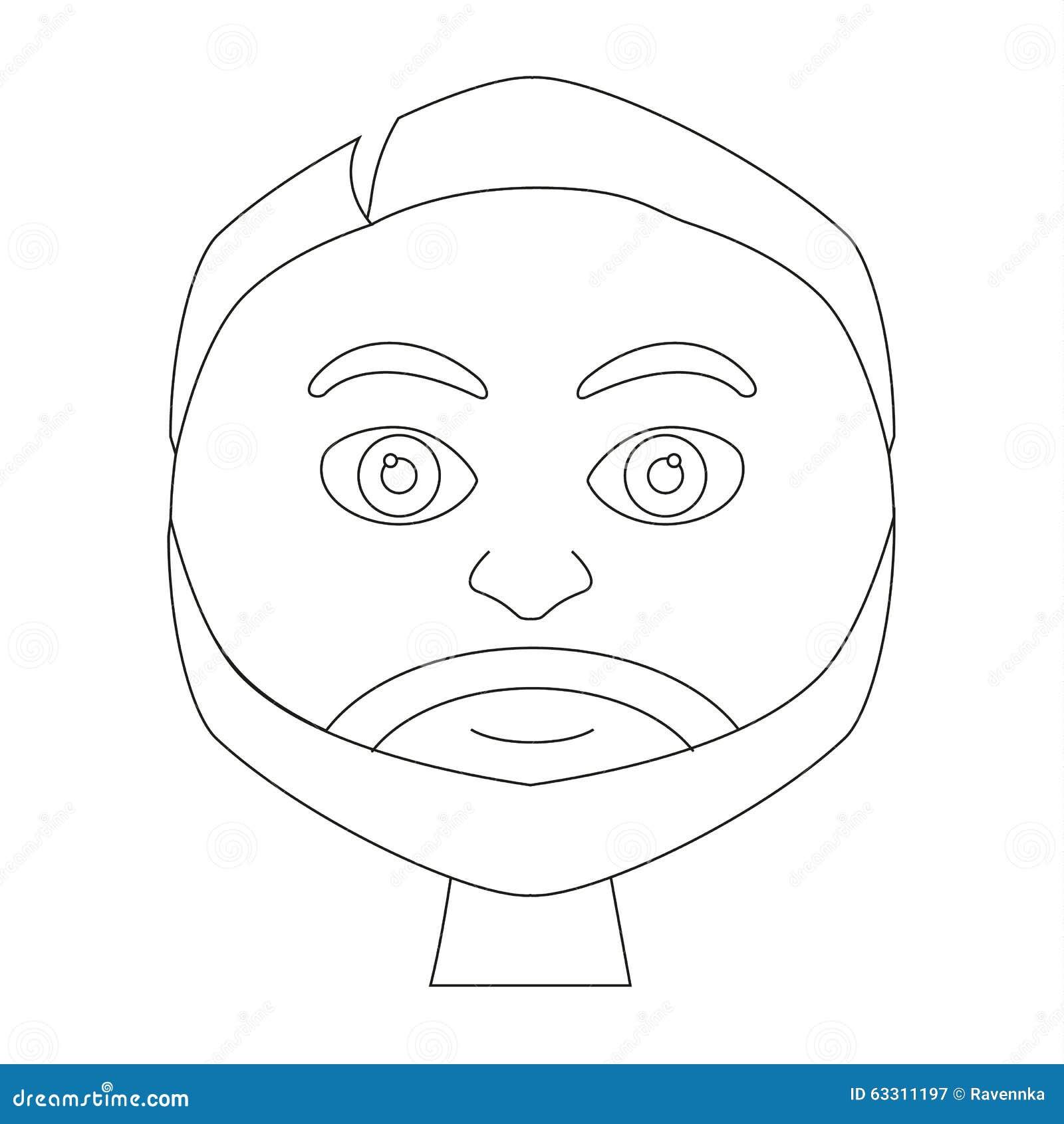 Coloriage Adulte Homme.Livre De Coloriage Page Portrait D Homme Adulte De Sourire