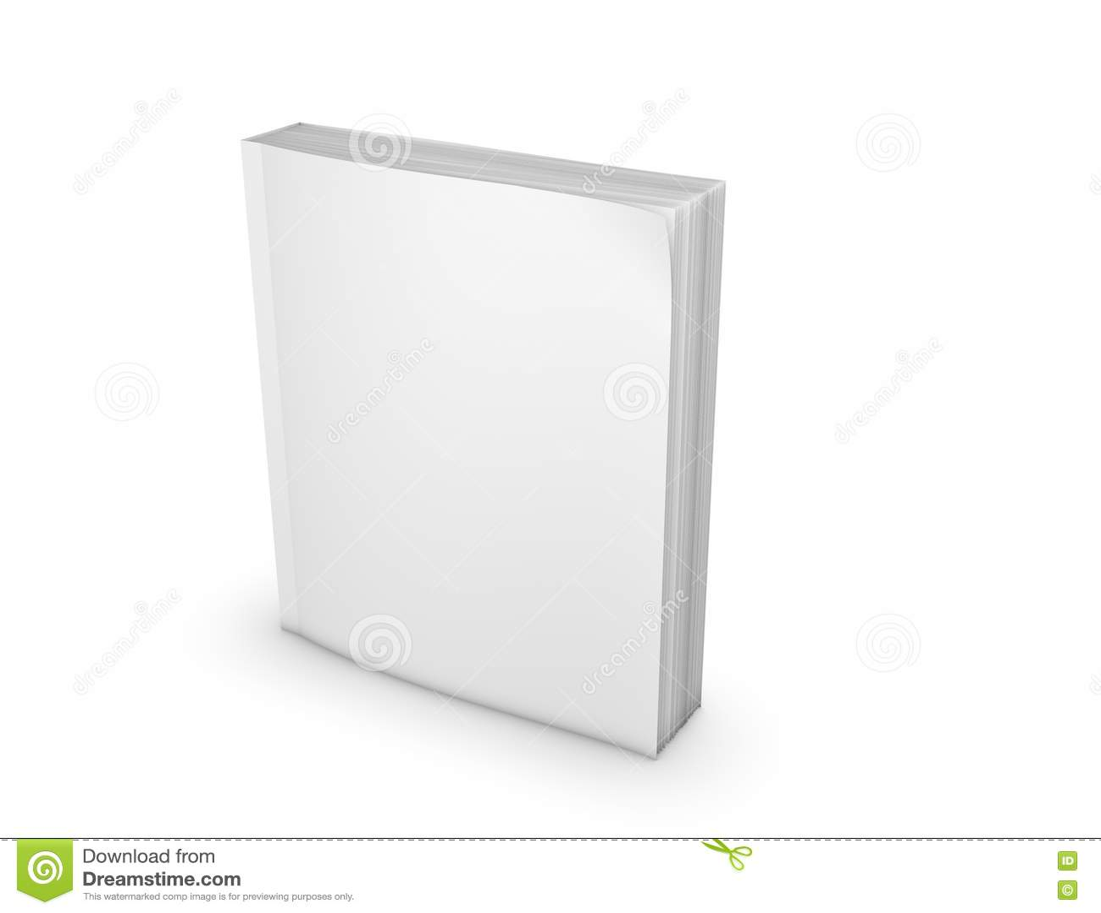 Livre De Poche Avec La Couverture Vide Se Tenant Sur L