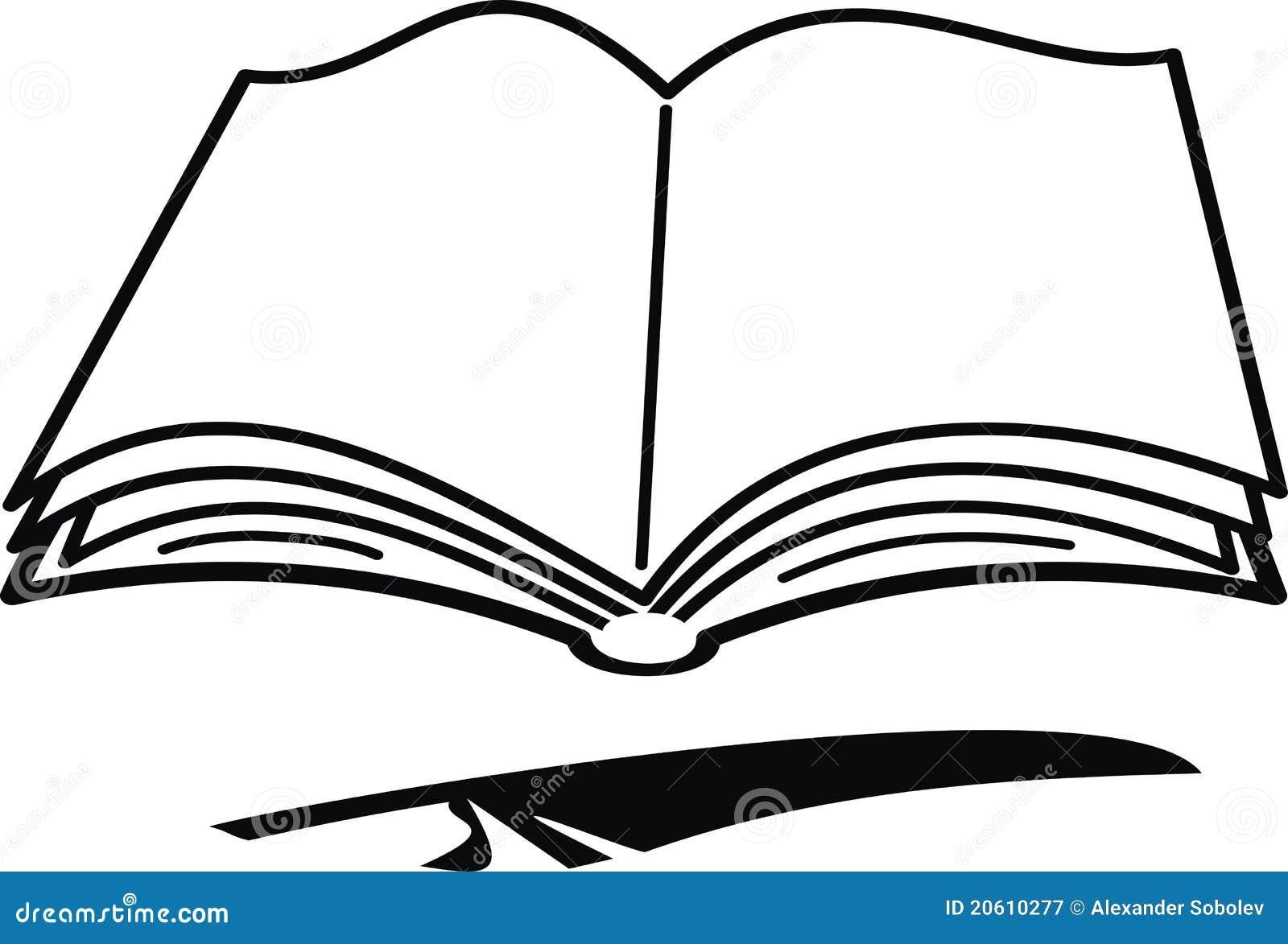 Livre Et Clavette De Dessin Anime Illustration De Vecteur