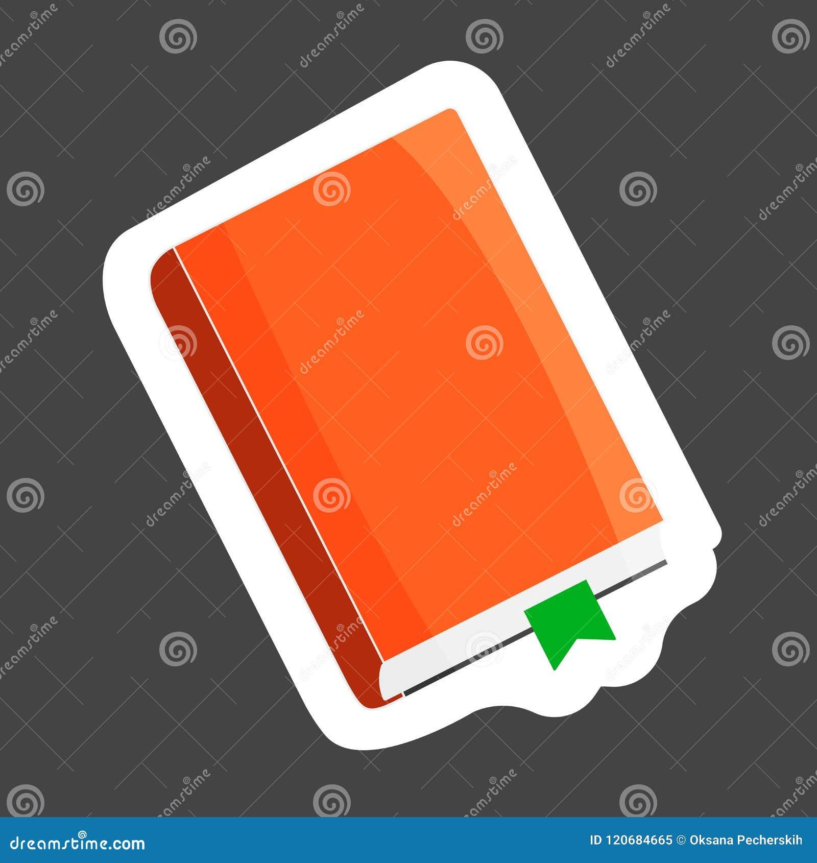 Livre Ferme D Icone De Vecteur Avec Le Repere Bloc Notes