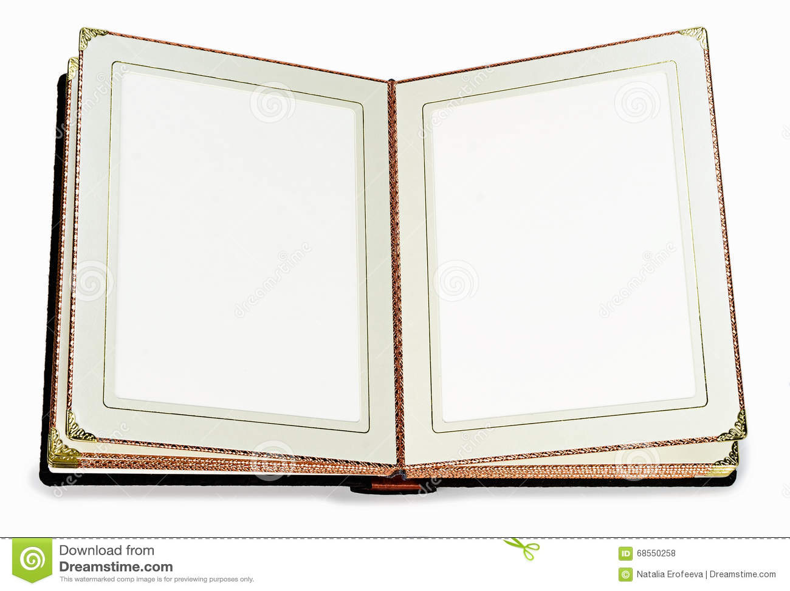 livre ouvert avec les pages vides et cadre d coratif pour le texte photo stock image 68550258. Black Bedroom Furniture Sets. Home Design Ideas
