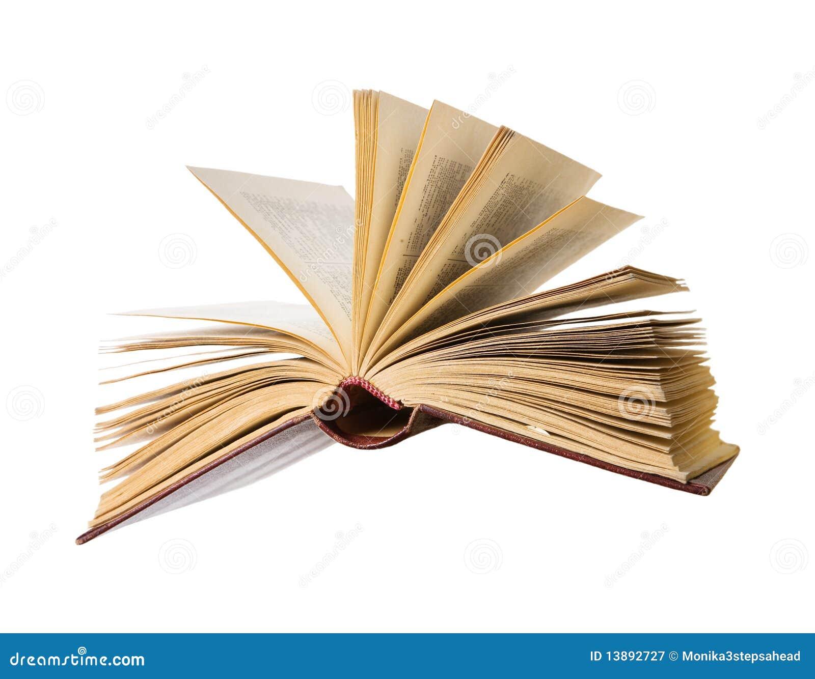 Livre Ouvert Volant Image Stock Image Du Imagination 13892727