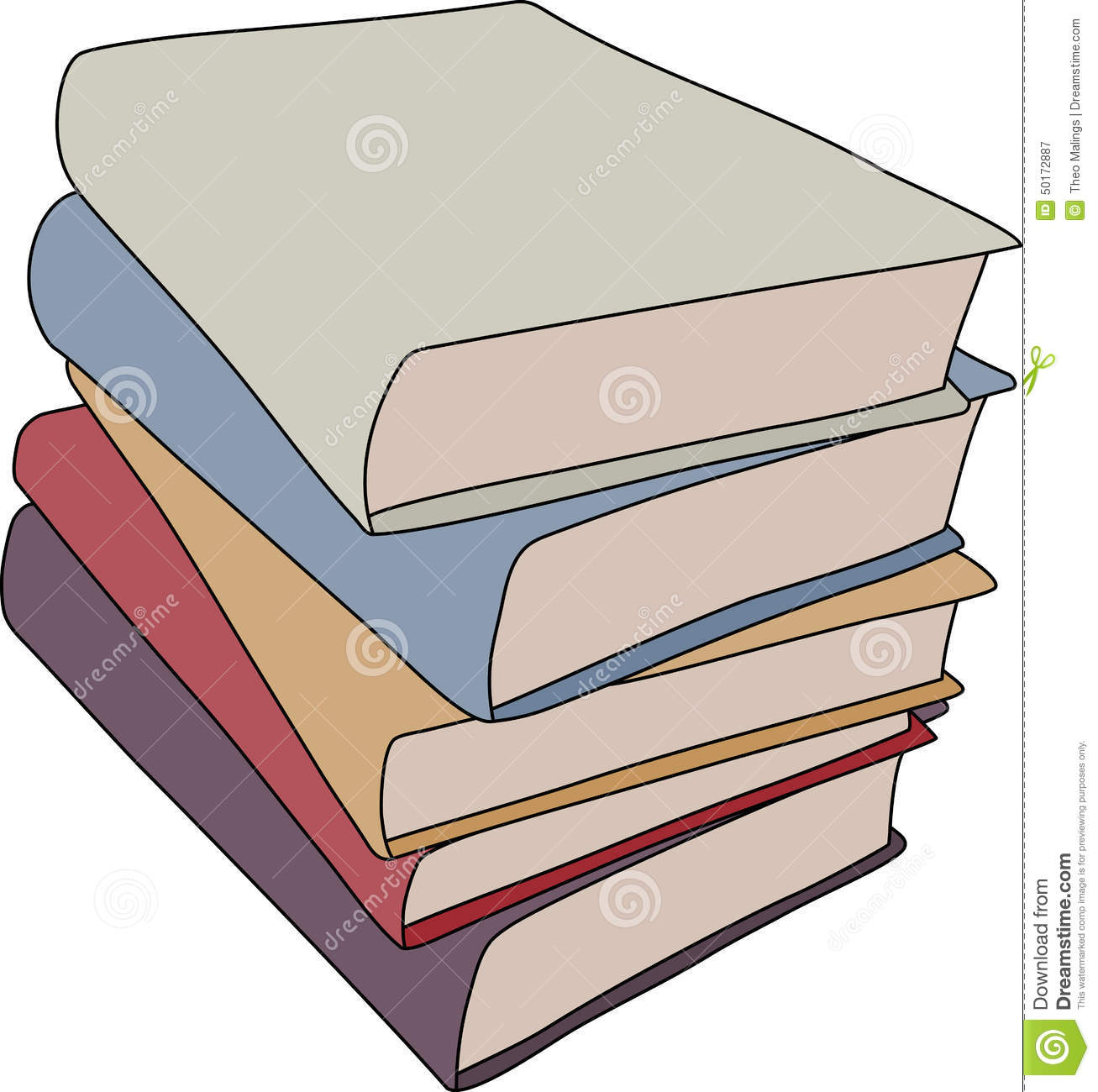 Livres De Bande Dessinee Illustration Stock Illustration Du