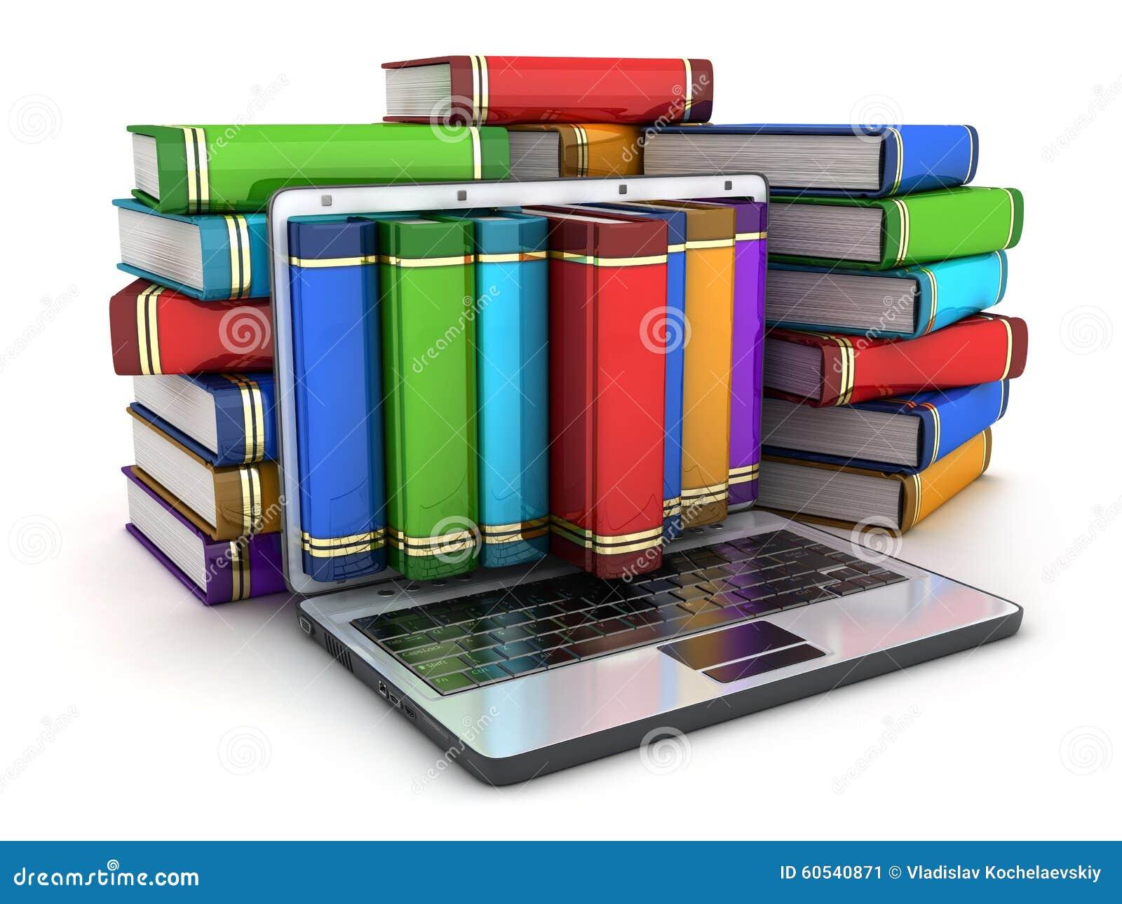 Livres et ordinateur portatif