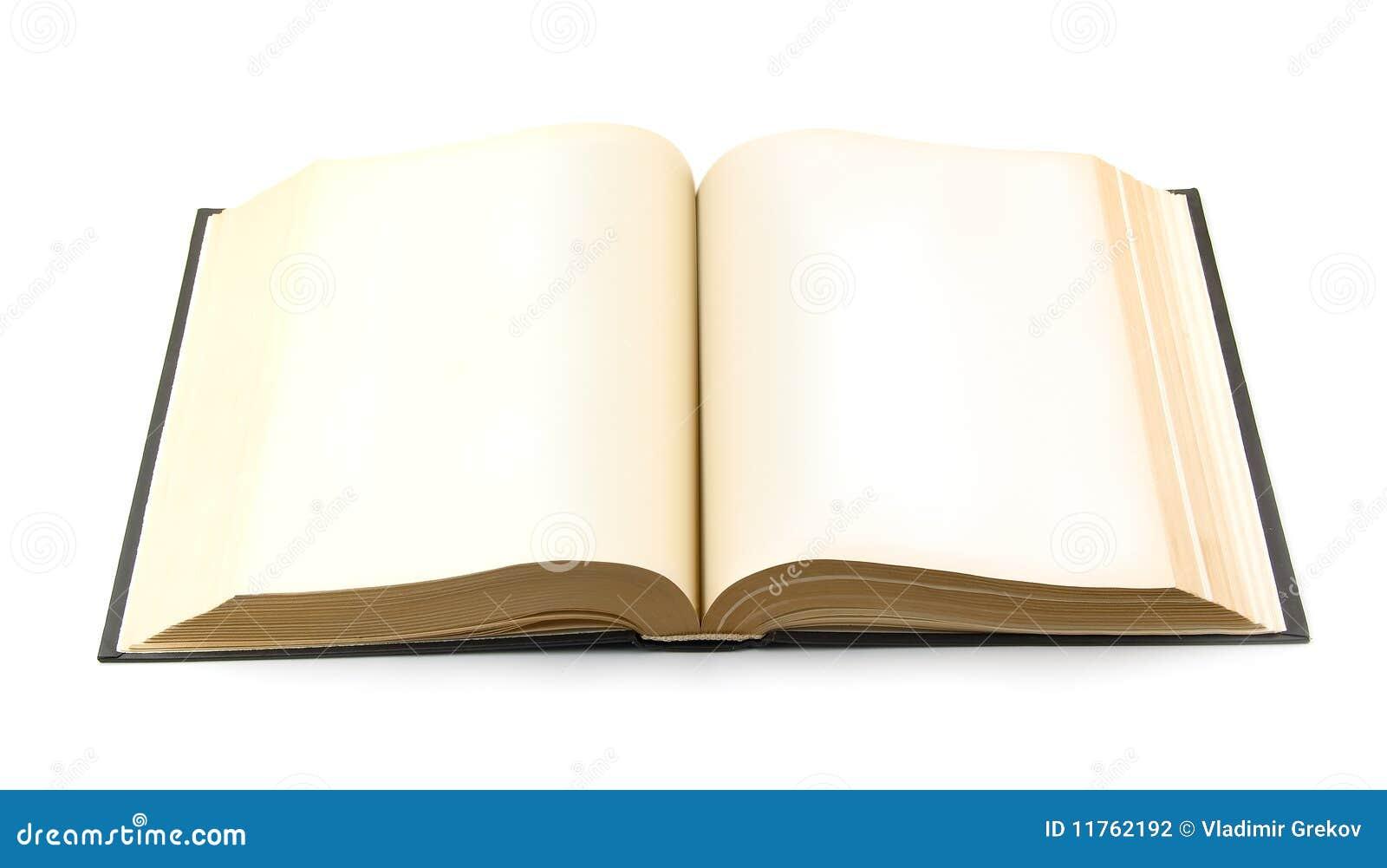 Livro aberto velho foto de stock. Imagem de espaço, página - 11762192