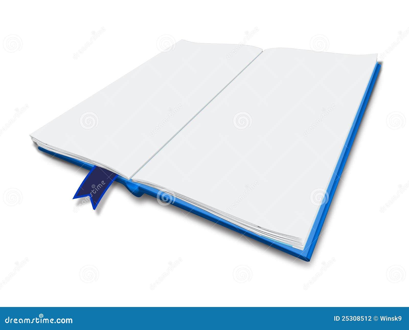 Livro branco ilustração stock. Ilustração de branco, página - 25308512